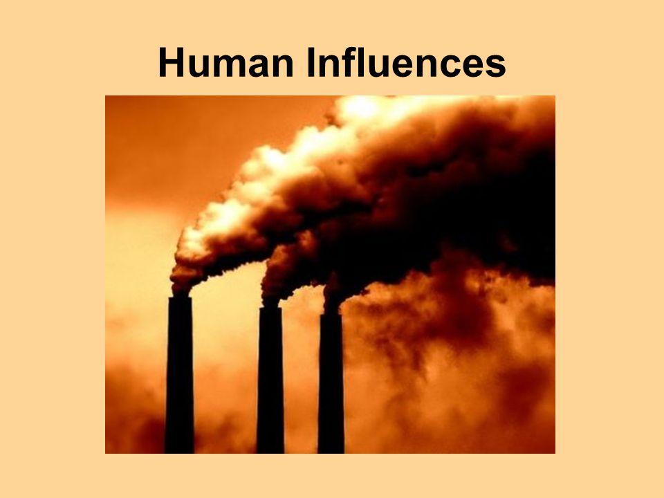 Human Influences