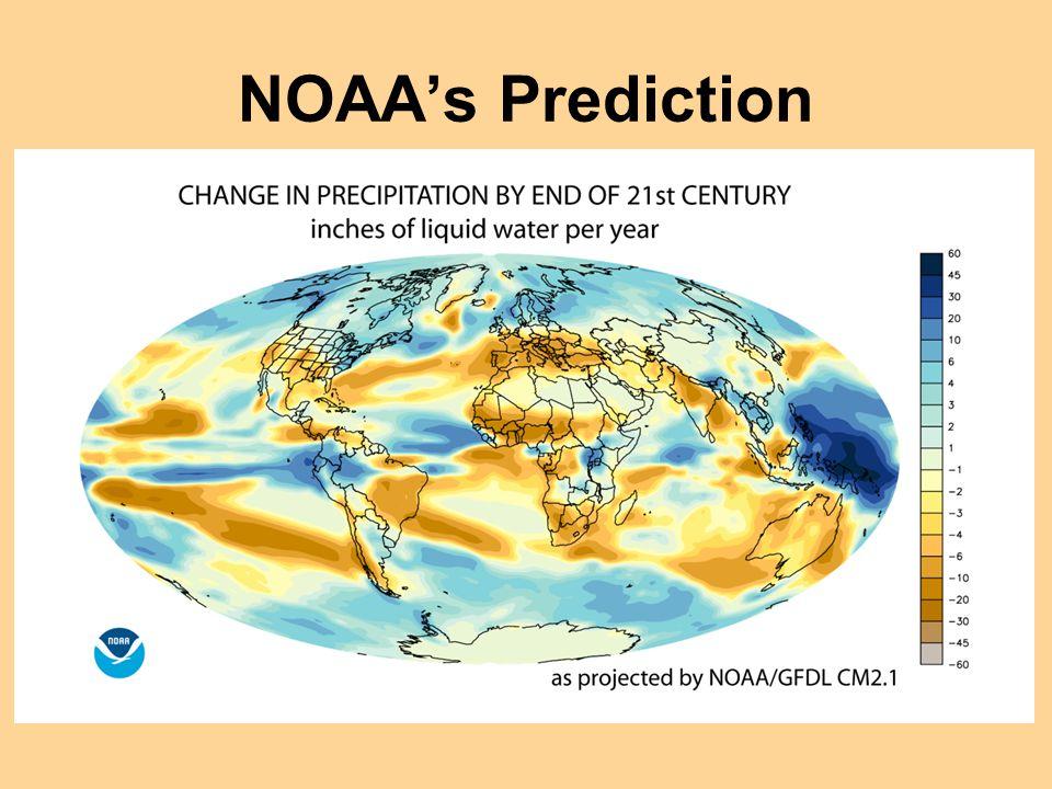 NOAA's Prediction