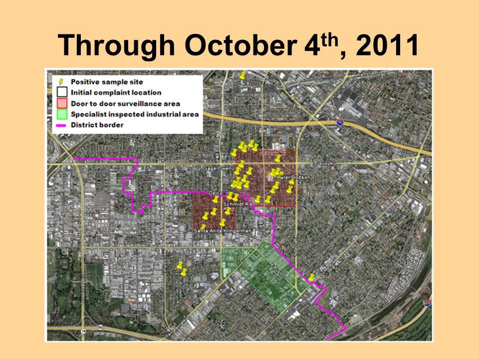 Through October 4th, 2011