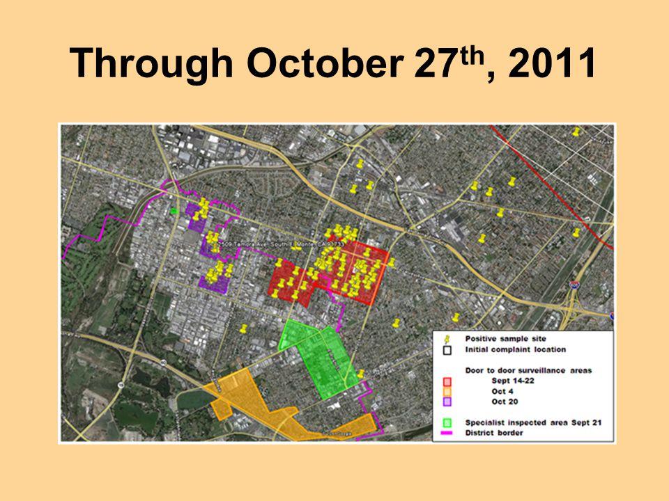 Through October 27th, 2011