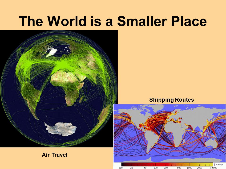 The World is a Smaller Place