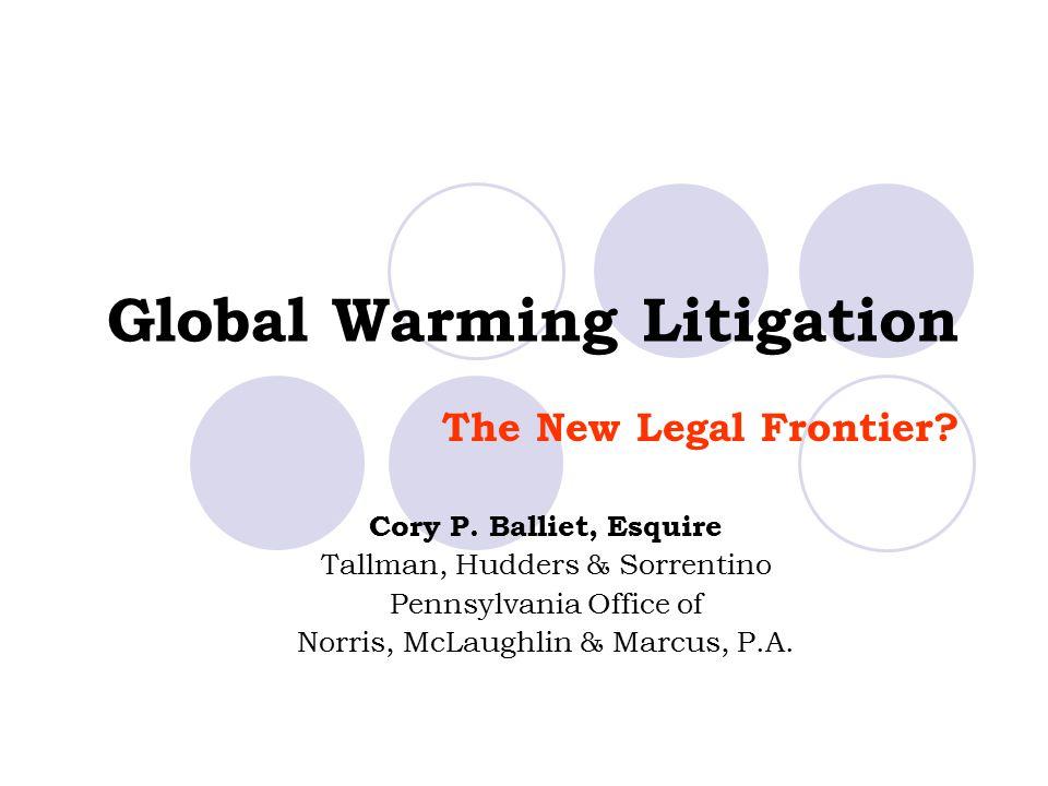Global Warming Litigation