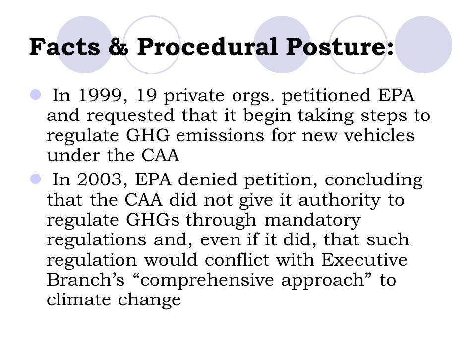 Facts & Procedural Posture: