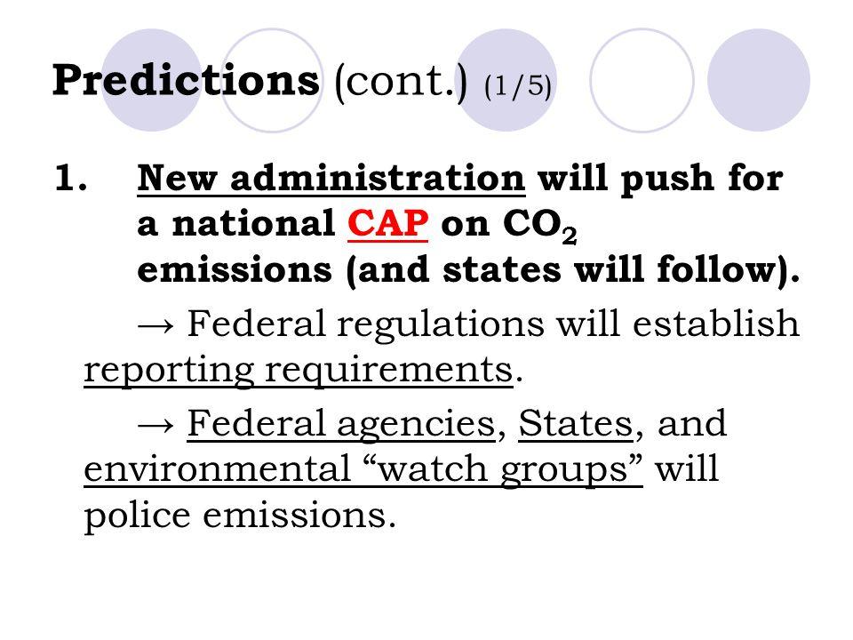 Predictions (cont.) (1/5)