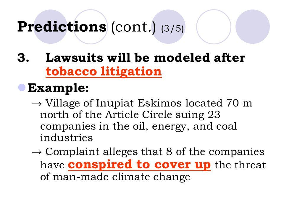 Predictions (cont.) (3/5)
