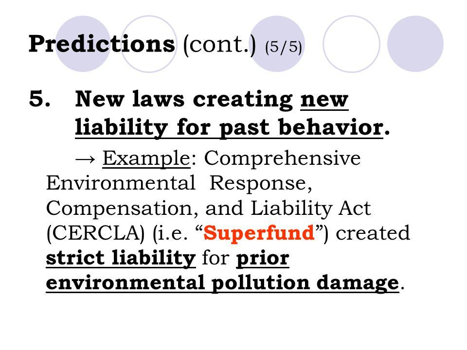 Predictions (cont.) (5/5)