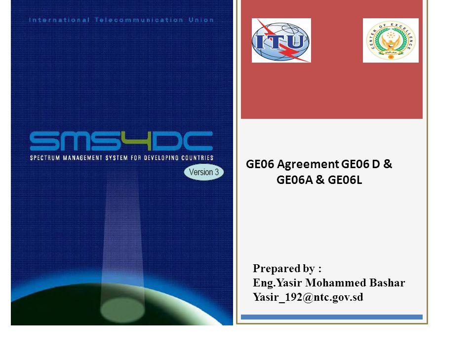 GE06 Agreement GE06 D & GE06A & GE06L