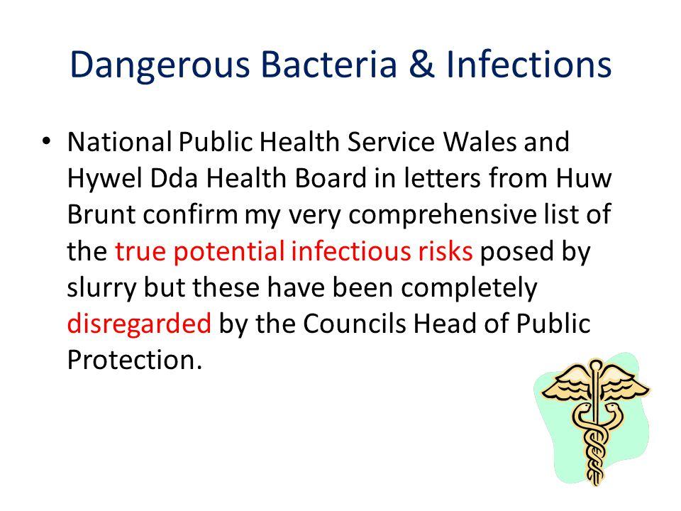 Dangerous Bacteria & Infections