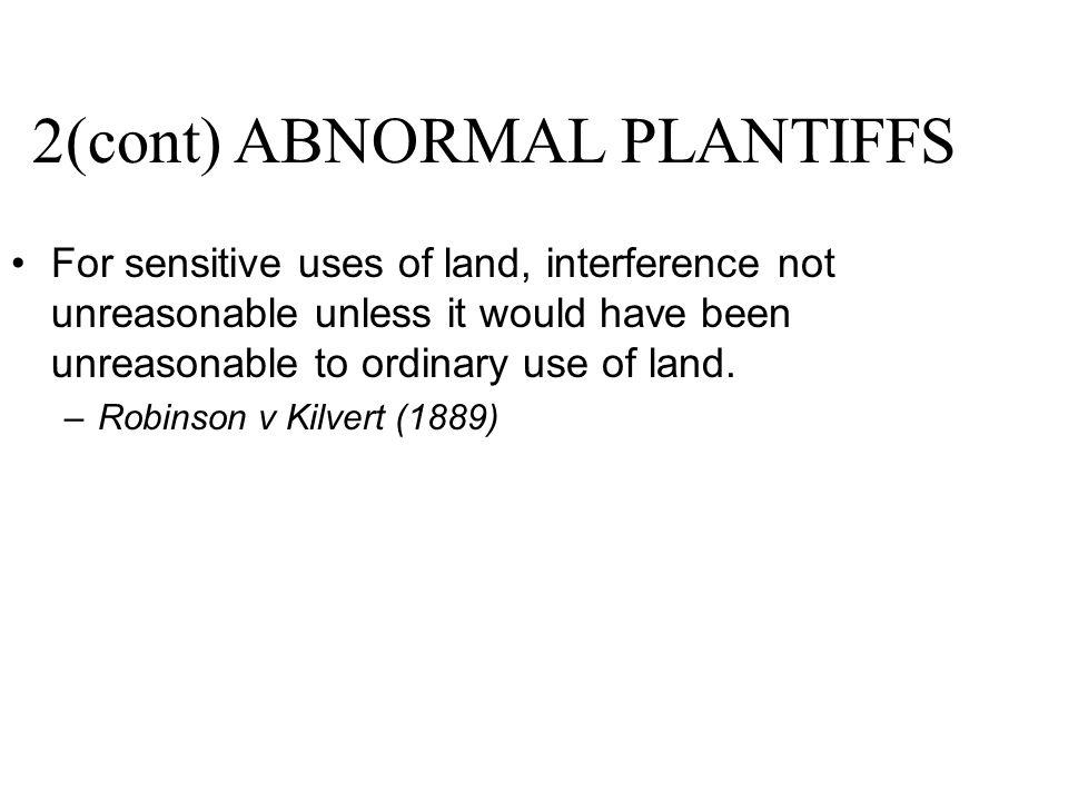 2(cont) ABNORMAL PLANTIFFS