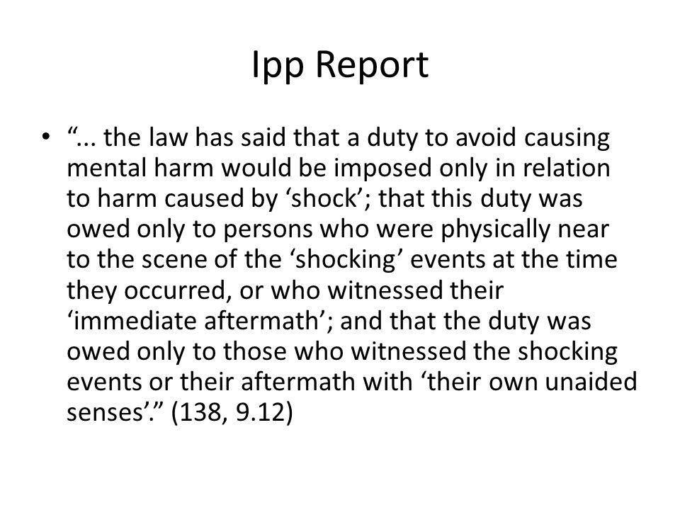 Ipp Report