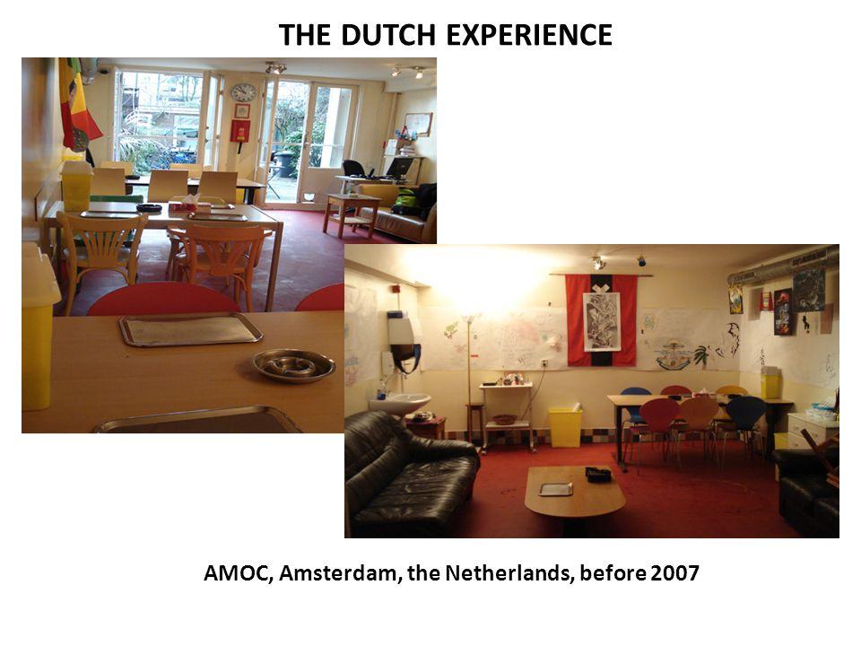AMOC, Amsterdam, the Netherlands, before 2007
