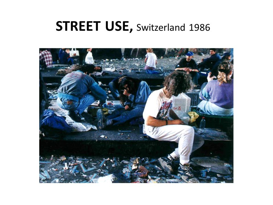 STREET USE, Switzerland 1986