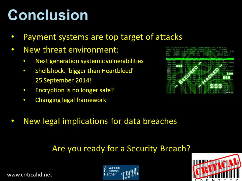 Are you ready for a Security Breach