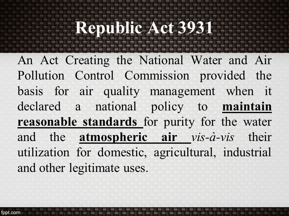 Republic Act 3931