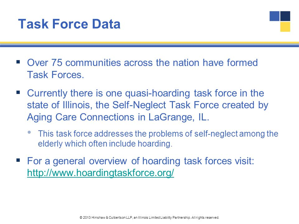 Task Force Data Over 75 communities across the nation have formed Task Forces.