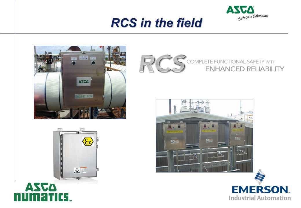 RCS in the field
