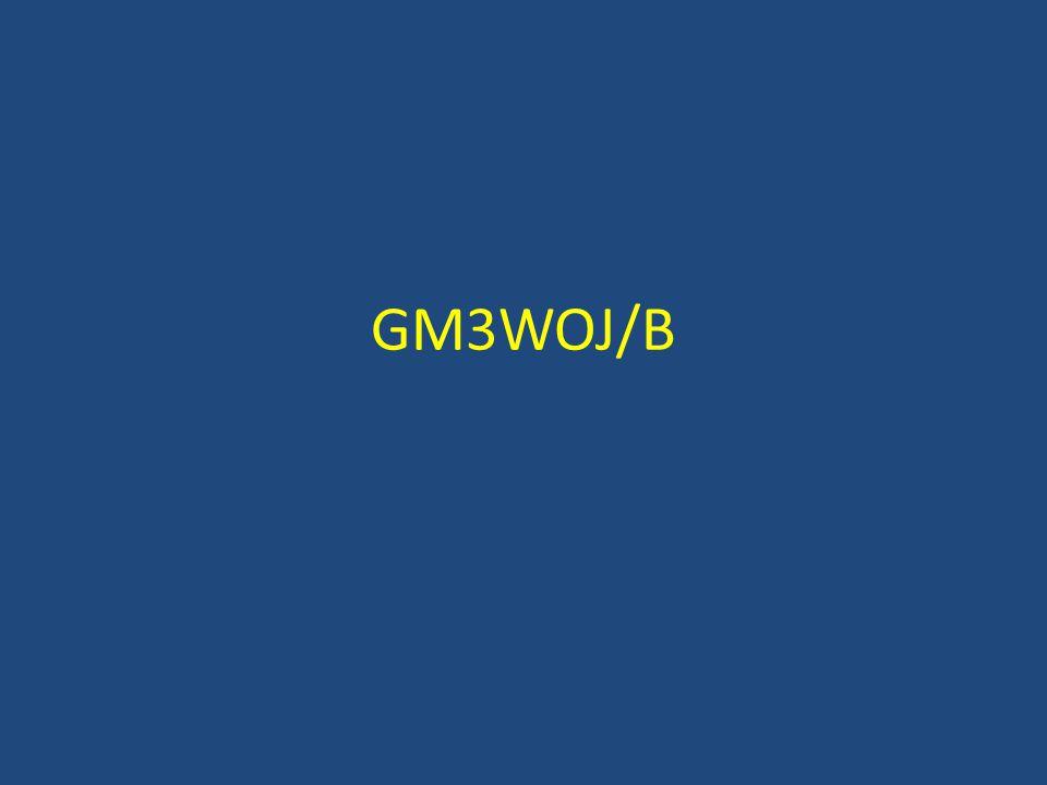 GM3WOJ/B