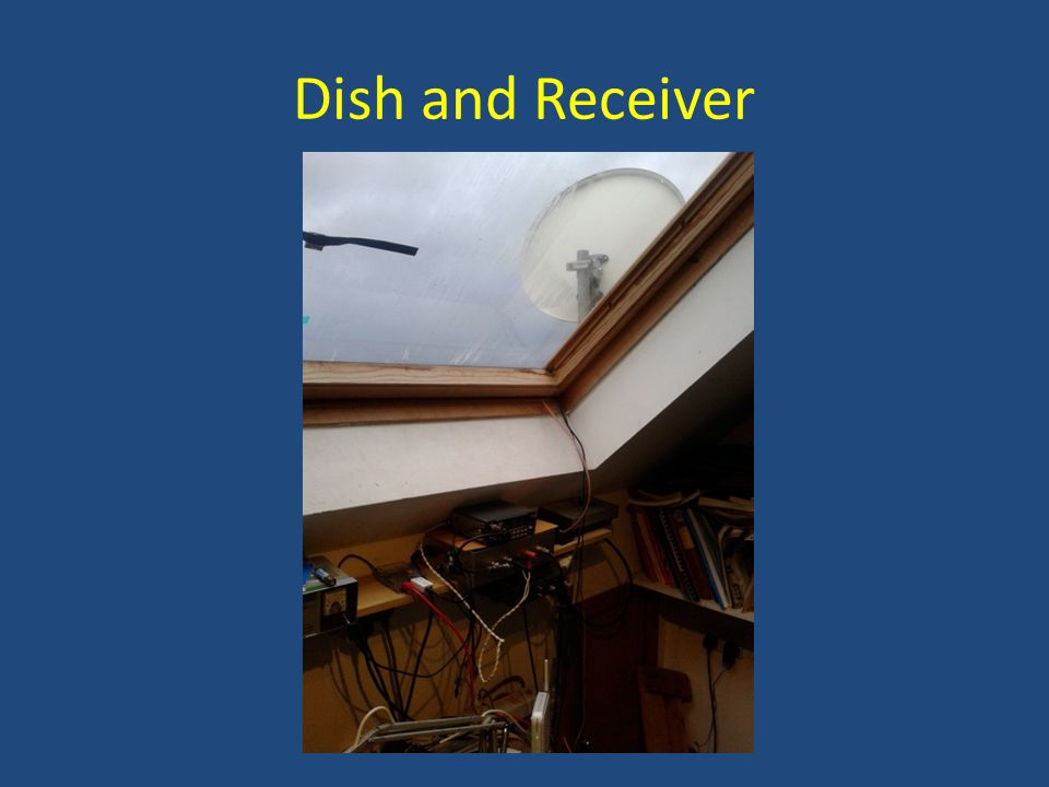Dish and Receiver