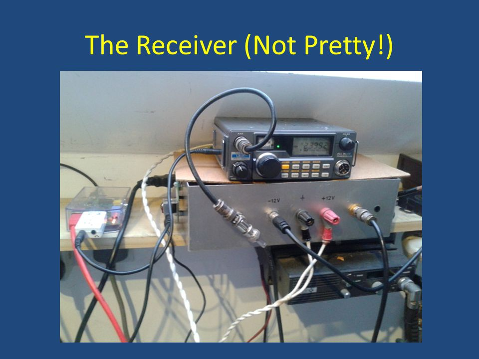 The Receiver (Not Pretty!)