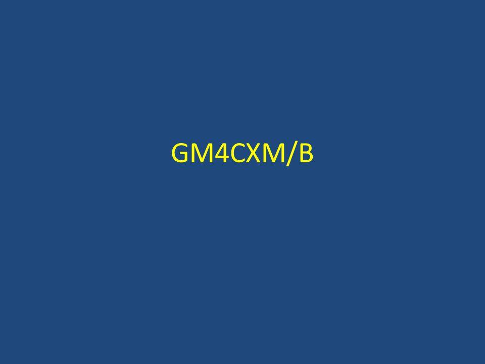 GM4CXM/B