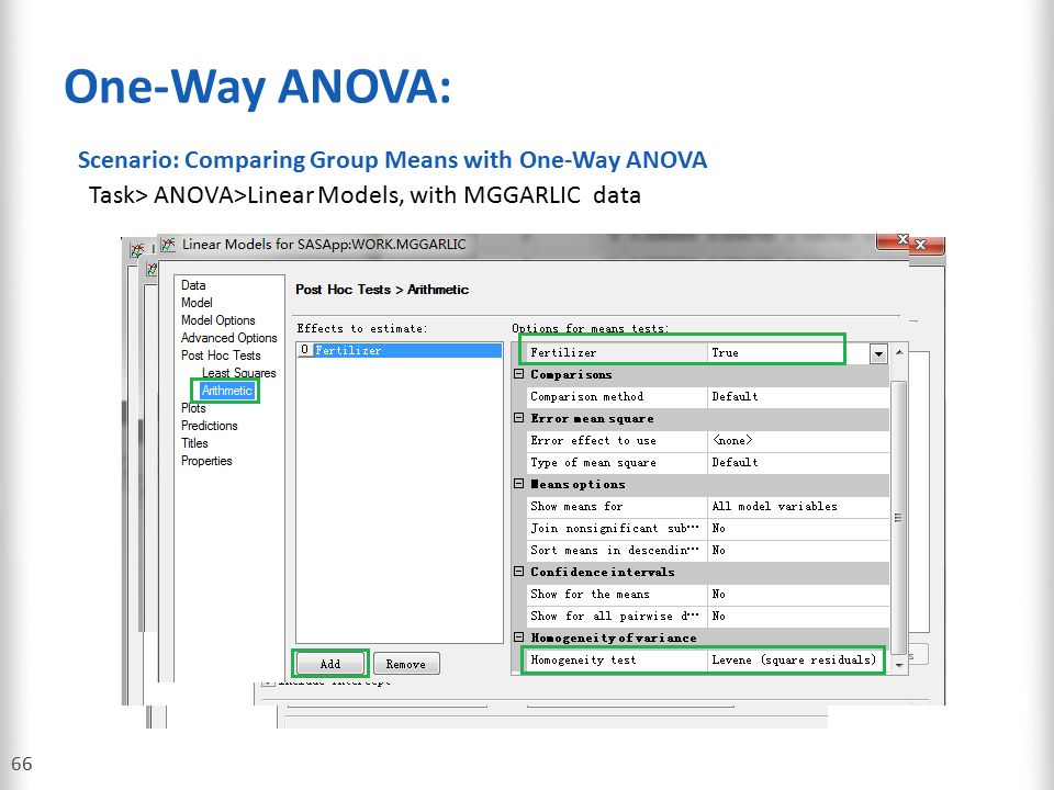 One-Way ANOVA: Scenario: Comparing Group Means with One-Way ANOVA
