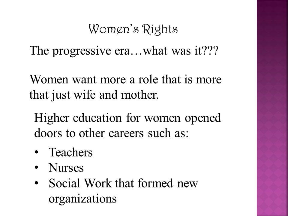 The progressive era…what was it