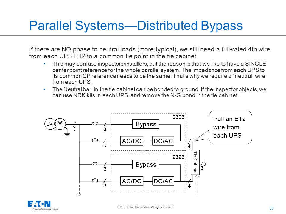 Parallel Systems—Distributed Bypass