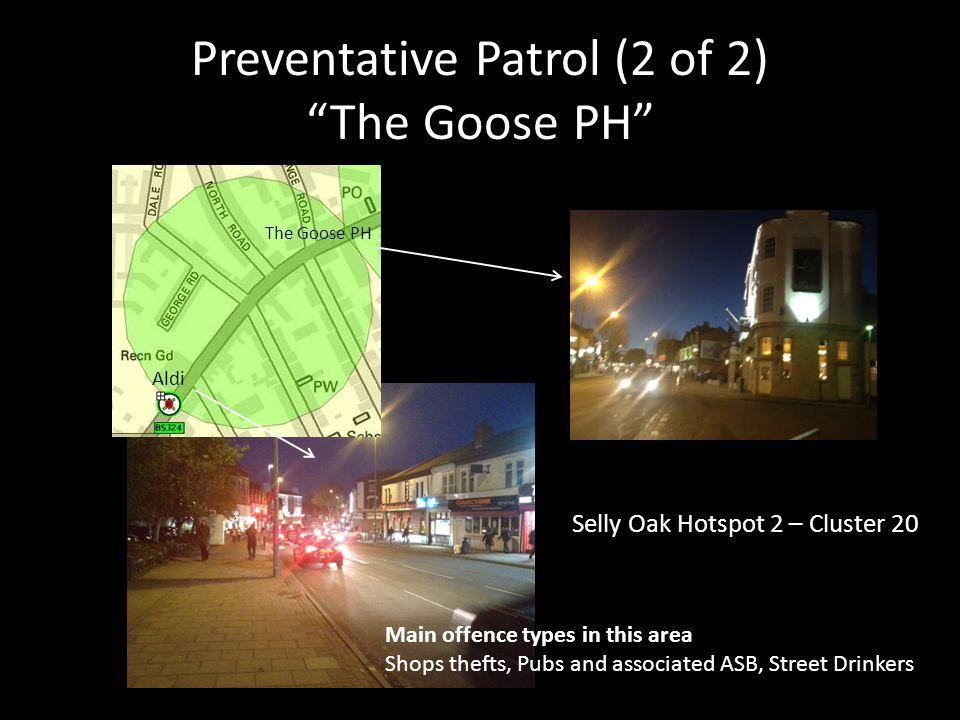 Preventative Patrol (2 of 2) The Goose PH