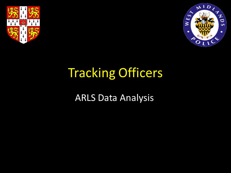 Tracking Officers ARLS Data Analysis