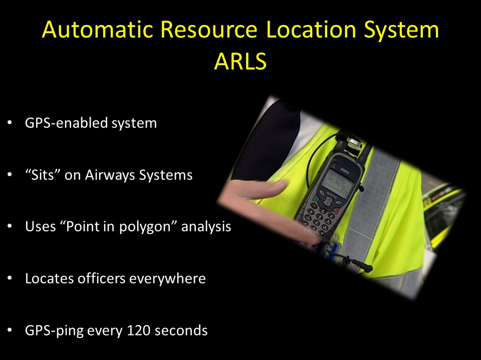 Automatic Resource Location System ARLS