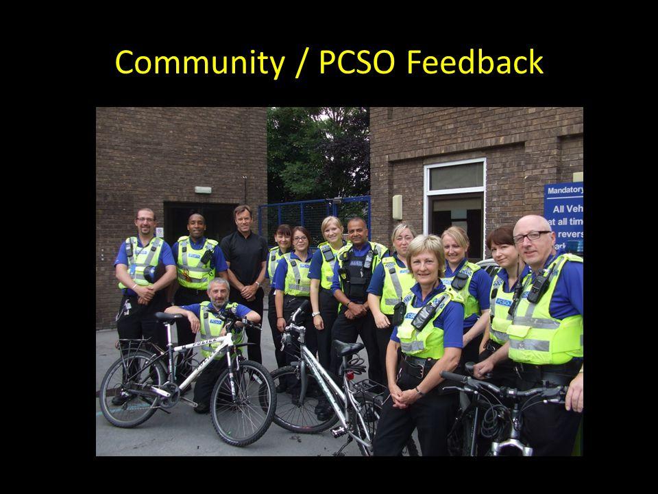 Community / PCSO Feedback