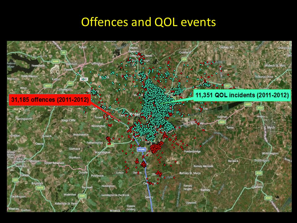Offences and QOL events