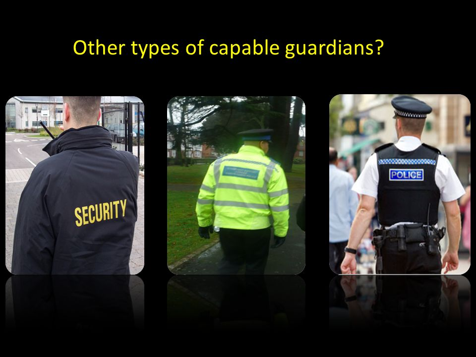 Other types of capable guardians