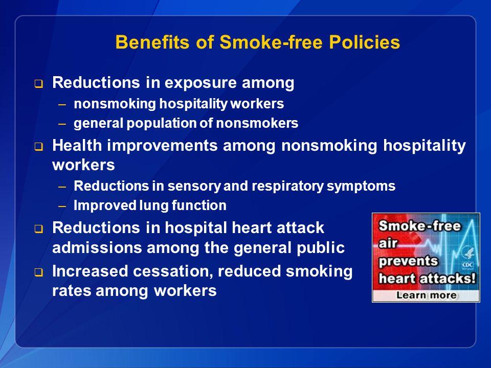 Benefits of Smoke-free Policies