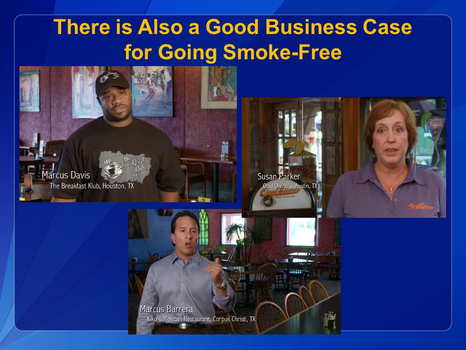 There is Also a Good Business Case for Going Smoke-Free