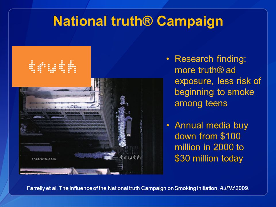 National truth® Campaign
