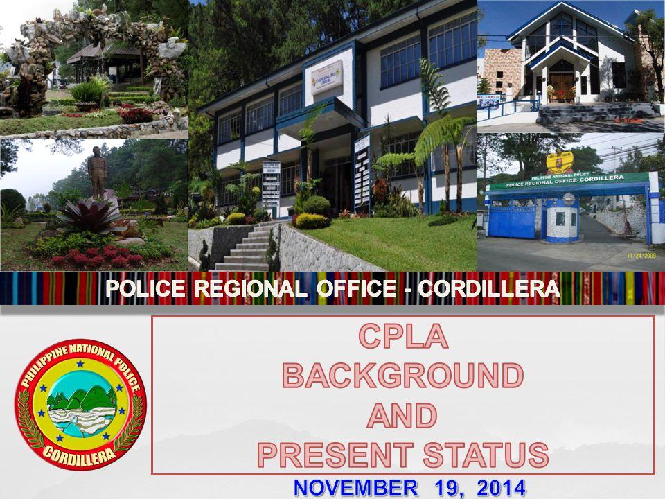 POLICE REGIONAL OFFICE - CORDILLERA