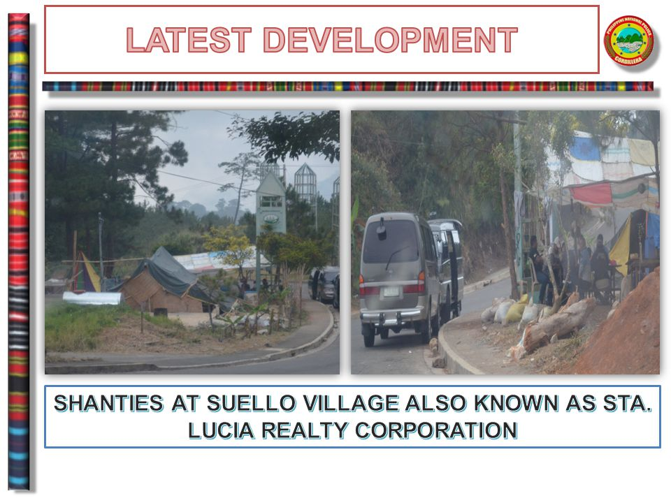 SHANTIES AT SUELLO VILLAGE ALSO KNOWN AS STA. LUCIA REALTY CORPORATION