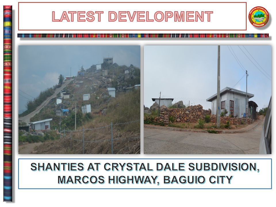 SHANTIES AT CRYSTAL DALE SUBDIVISION, MARCOS HIGHWAY, BAGUIO CITY