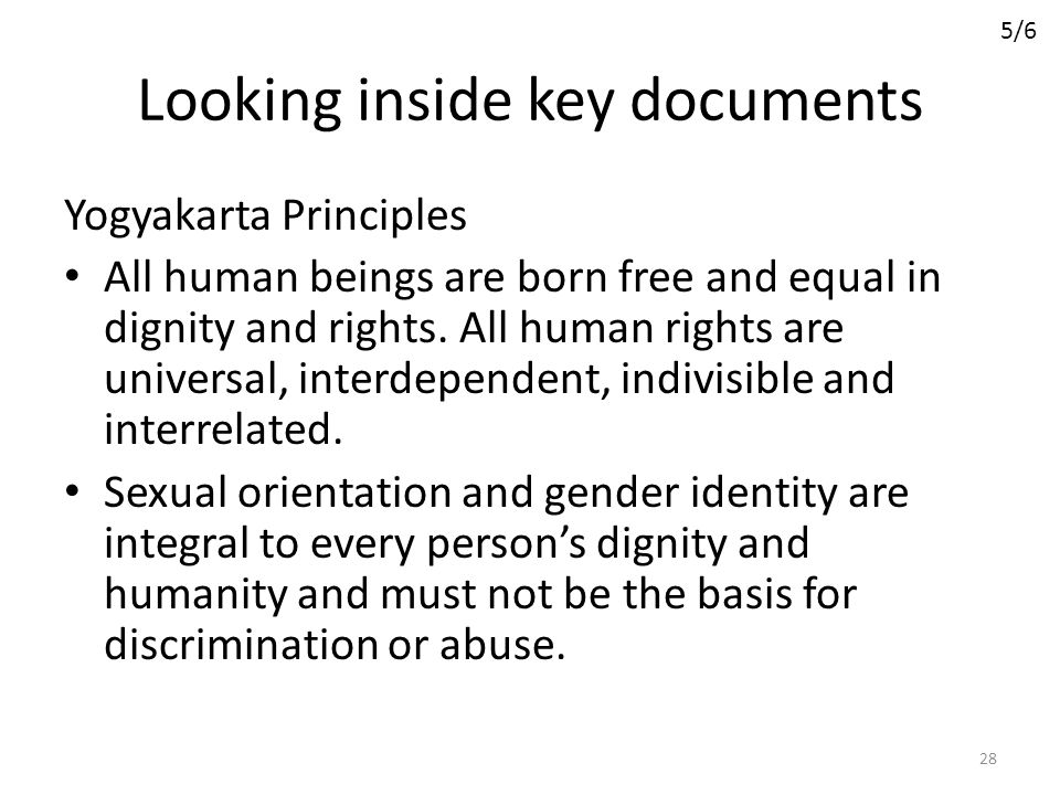 Looking inside key documents