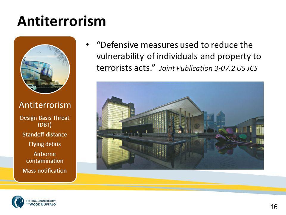 Basic CPTED Antiterrorism