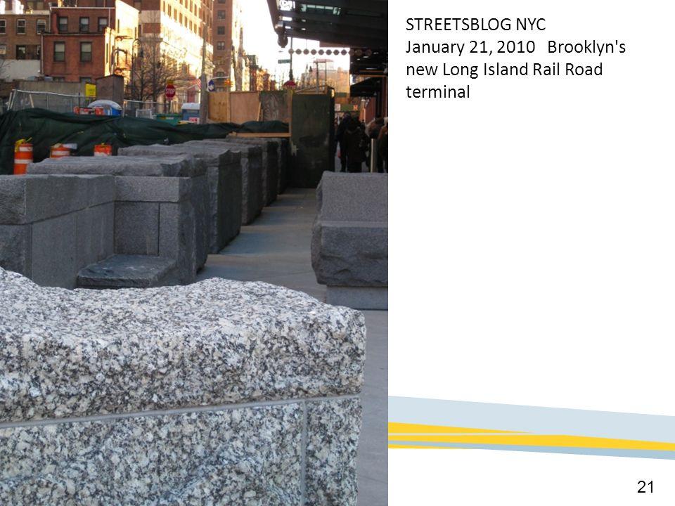 January 21, 2010 Brooklyn s new Long Island Rail Road terminal