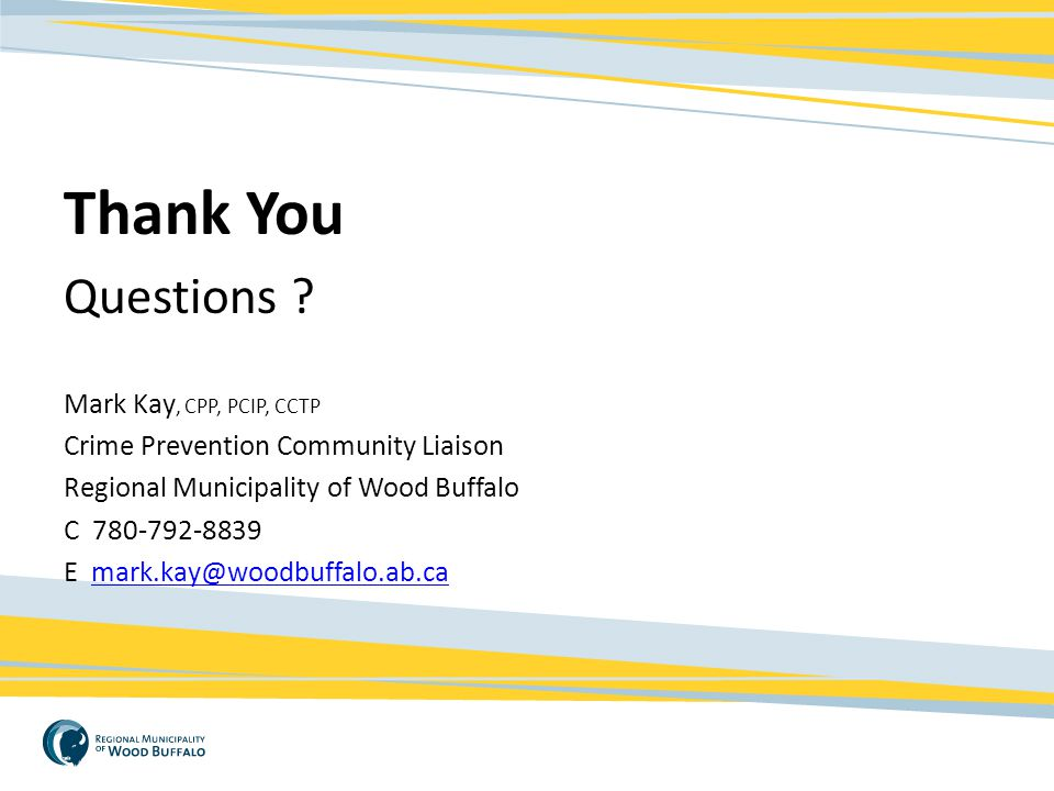 Thank You Questions Mark Kay, CPP, PCIP, CCTP