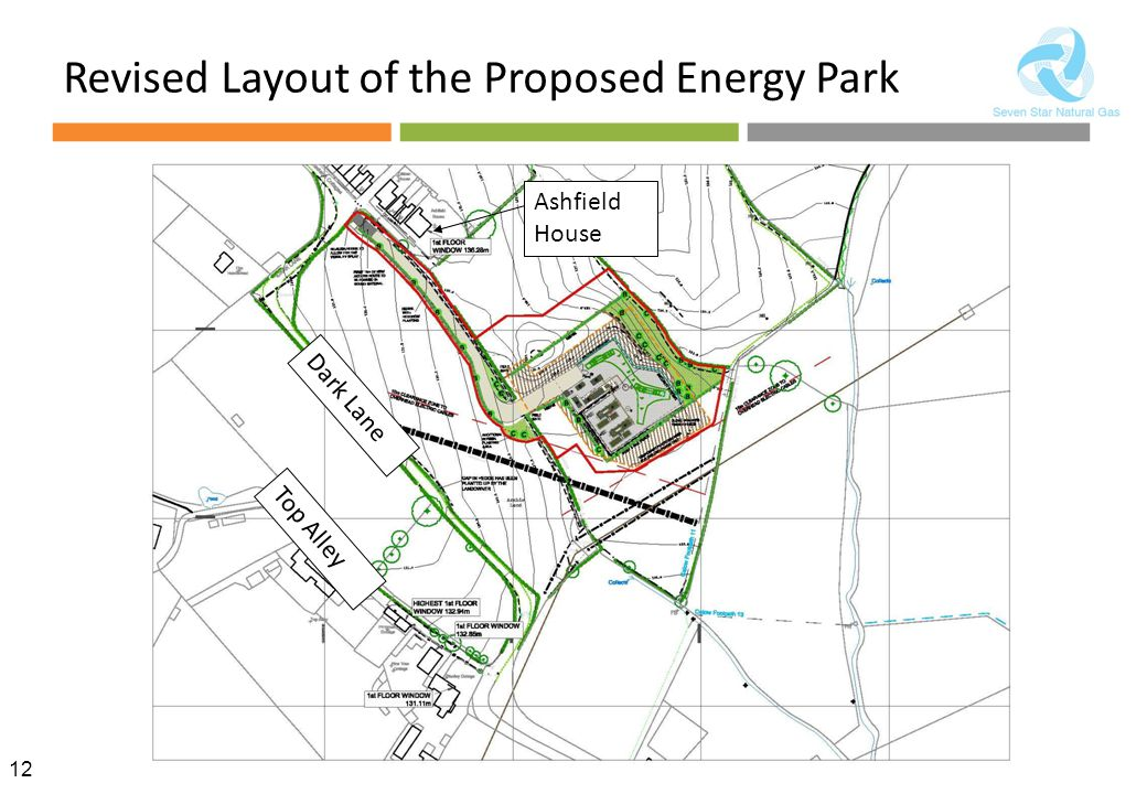 Revised Layout of the Proposed Energy Park