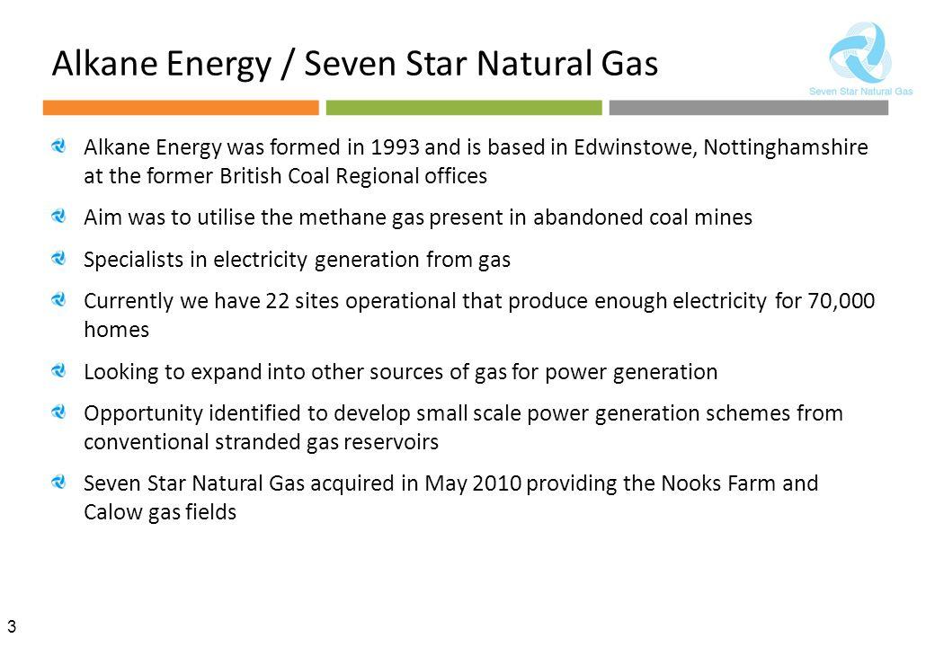 Alkane Energy / Seven Star Natural Gas