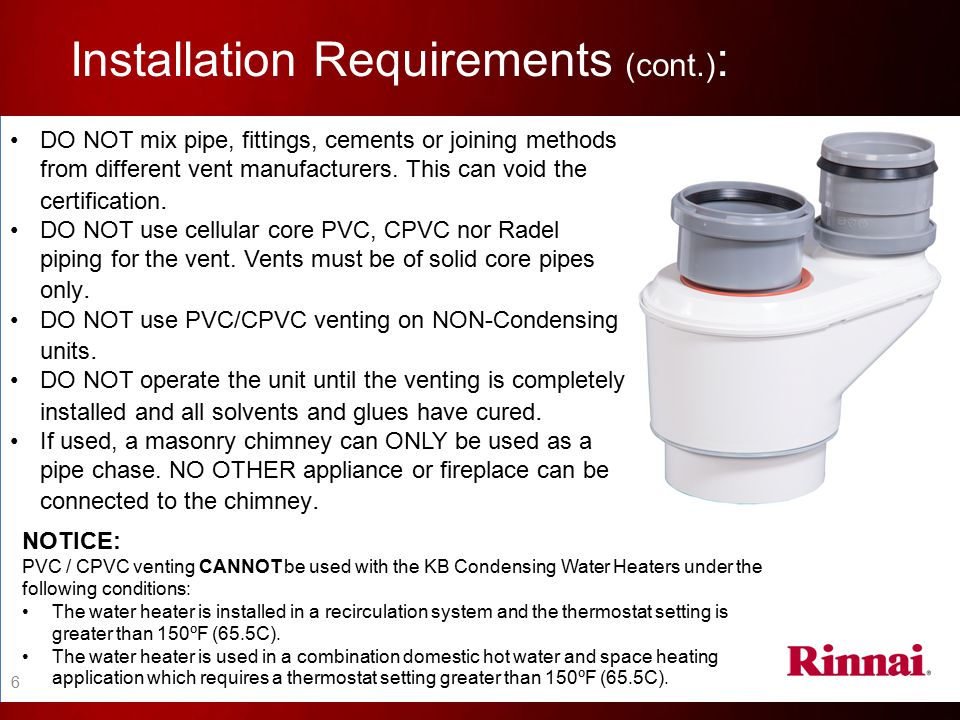 Installation Requirements (cont.):