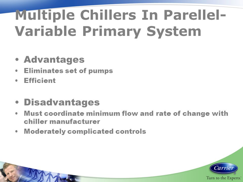 Multiple Chillers In Parellel-Variable Primary System