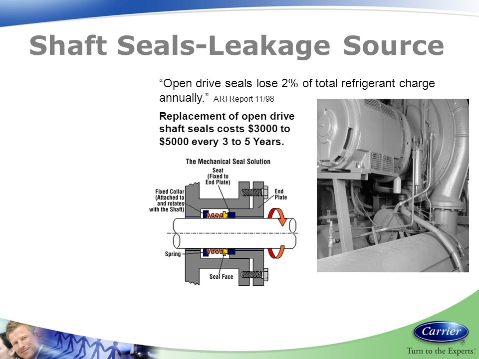 Shaft Seals-Leakage Source