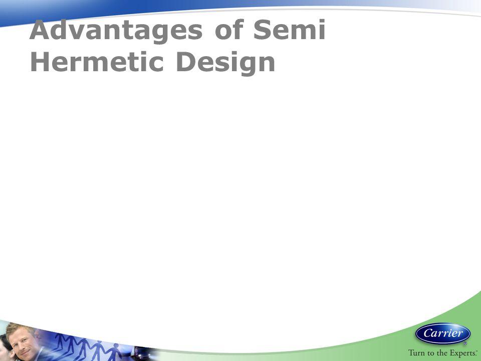 Advantages of Semi Hermetic Design