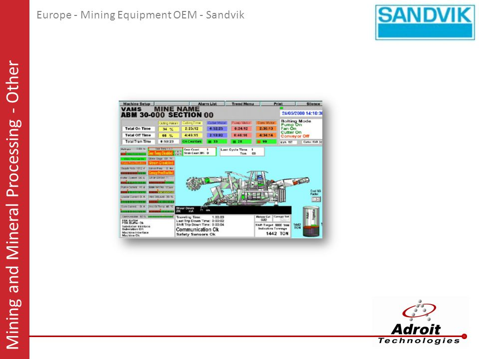 Mining and Mineral Processing - Other